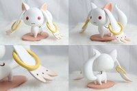 Free shipping Puella Magi Madoka Magica Kyubey PVC Figure