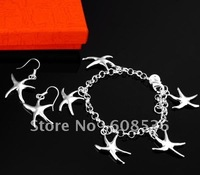 fashion jewelry,925 sterling silver Necklace & earring,925 jewelry,925 silver jewelry,Brand New S21