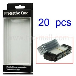 20PCS/Lot Protective Package/Packing Box for Cell Phone Cases ,Display The Cases Clearly(MHC-Phone)(China (Mainland))