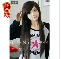 2011 new non-mainstream wig a long straight hair wig inclined LiuHaiChang girl straight hair wig fluffy