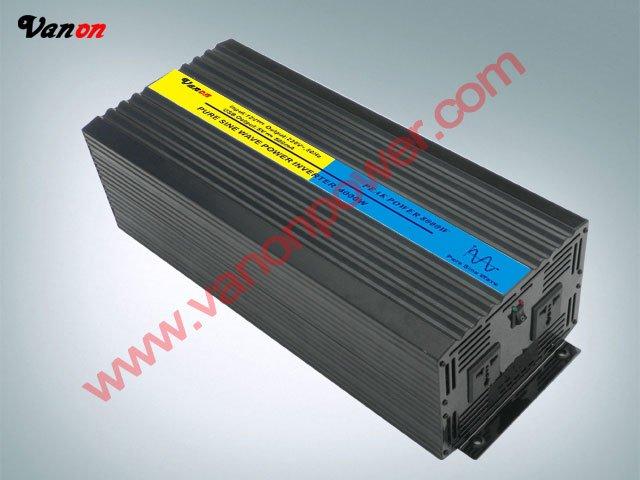 4000W/4KW Pure Sine Wave Power Inverter (8kw/8000w peak power,12V/24/48Vinput 110V/220VAC)(China (Mainland))