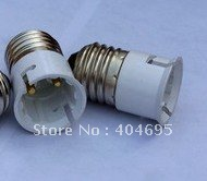 FREE SHIPPING  Lamp Converter \ E27  to B22 led lamp holder 20pcs