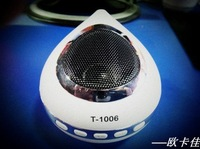 Water drop Portable Speaker Mini Speaker SD card / U disk built-in radio Oka good T-1006