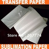 T shirt transfer paper SALES/ A4 SIZE TRANSFER PAPER,SUBLIMATION PAPER FOR HEAT PRESS MACHINE(A GRADE)+FREE SHIPPING