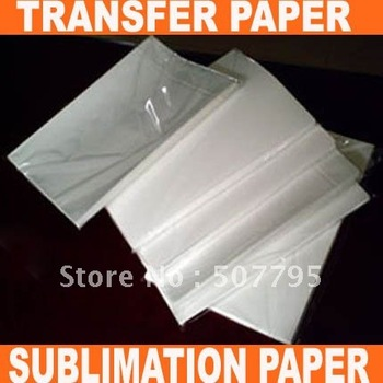 Heat Transfer Printing SALES/ A4 SIZE TRANSFER PAPER,SUBLIMATION PAPER FOR HEAT PRESS MACHINE(A GRADE)+FREE SHIPPING