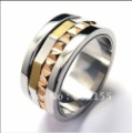FREE SHIPPING New Fashion jewelry 316L Titanium Steel Fashion fashion RING  Wholesale and retail 100%Satisfaction Guarantee