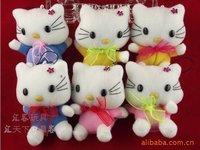 EMS free shipp ,new arrival , 100pcs/lot, kitty cat toy lady bag accessories, key chain , rag doll sku:h8