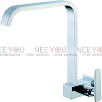 Brand New Brass Chrome Deck Mounted Single Cold Faucet Basin Faucet Kitchen Faucet NY16045