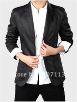 Men's Casual Slim fit Skinny business suits(coat) free shipping