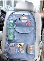 Car Multi Back Seat Pocket Storage Organiser Bag Bamboo charcoal,free shipping