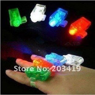 Novelty Items best selling New finger Light, led finger light, laser finger, Light ring CN post
