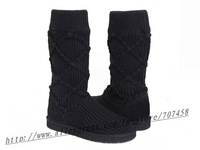 Free shipping,wholesale and retail women's snow boots 5879,women's Bead Style boots!