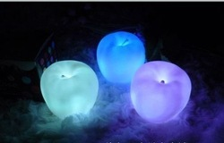 Glowing Led Color Change Light,Color Changing Tealights, Apple LED Candles,Birthday/Festival/Wedding Gift(China (Mainland))