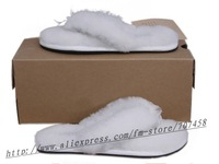 Free shipping+5pairs/lot Fahion lovely lady's love-heart plush slippers,indoor slipper