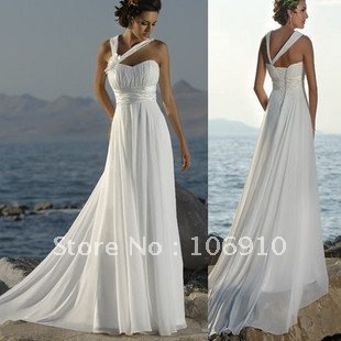 White Beach Dress on New Gauze Dress Lovely Dinner Dress Wedding Dresses Free Shipping In