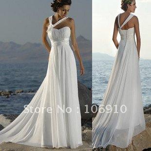 White Beach Dress on New Gauze Dress Lovely Dinner Dress Wedding Dresses Free Shipping In