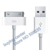 USB 2.0 Data Cable / Charging Cable for iPad,for iPhone 4,for iPhone 3G/3Gs,for iPod series- 50pcs, Free Shipping by EMS