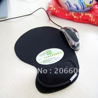 Hot sell!Free shipping!Computer mouse pad with wrist rest,Bamboo charcoal radiation protection mouse mat(A07-3-003)