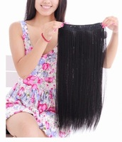 New Goods,24 inch 95% Remy Human Hair Extensions Clip on Hair,1pcs/50g/5 clips ,Free Shipping