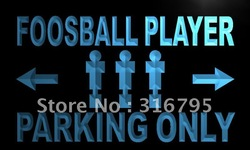 m321-b Foosball Player Parking Only Neon Light Sign(China (Mainland))