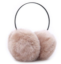 Free shipping(2pcs/lot)Good quality super soft,supper big fur fashion earcap(China (Mainland))