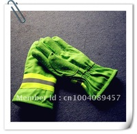Wholesale Green Fire Safety Gloves Fire Proof