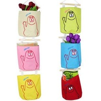 whole sale 10pcs/lot New Arrival cartoon colorful hanging bag,Storage Bag  free shipping