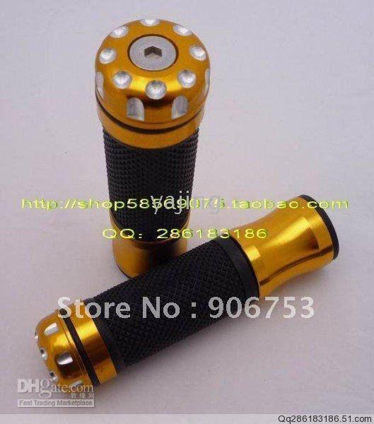 Wholesale - Motorcycle Chopper Handlebar Handle bar Grips sleeve Grips Y4202 10pcs/lots