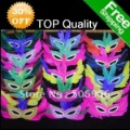 Halloween Mask Mardi Gras Feather mask For Halloween Christmas gift Props Free Shipping