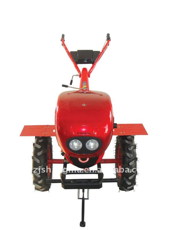 Chinese diesel mini air cooled power tiller farm cultivator with 6HP for plowing lands(China (Mainland))