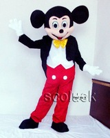 Hot!! Fast Delivey Mr Mickey Mouse Cartoon Mascot Costume for Parties