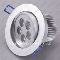 Episar LED ceiling spotlight,15W LED Downlight,5*3W led recessed lighting+free shipping[Sharing Lighting]