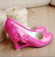 Hot selling wholesale price   2011 newest design sexy high heel ladies shoes/big size shoes