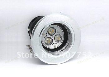 E27 3W popular led lamp,high power led spot lighting,bright led downlight[Sharing Lighting