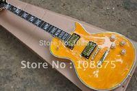 Supreme orange tiger Electric Guitar Signed Guitar