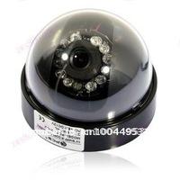 CMOS Color Dome Video CCTV Surveillance Security Camera System DVR W06