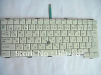 The new  white  keyboard CP307030-01 FOR  Fujitsu P/B70 N US version K052133O1