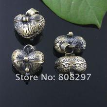 DIY 16*17mm Fashion Necklace,Pendant Bronze European style Prayer Craft Photo Frame Locket Box,Jewelry Finding 20pcs/lot(China (Mainland))