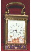 cloisonne clock promotion