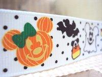 50Y3517 david ribbon 7/8 '' halloween pumpkins mickey grosgrain ribbon hairbows printed ribbon freeshipping