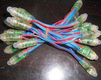 25 node LED pixel string ;DC12V input;new model,IP68;TM1804IC