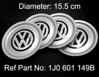 Volkswagen WHEEL CENTER HUB CAP FIT FOR VW JETTA BORA GOLF MK4 1999-2004 Replace #1J0 601 149B FREE SHIPPING