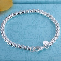 fashion jewelry,925 sterling silver 4MM Unisex Bracelets&bracelet,  B151