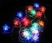 Free Shipping,LED String  Lights / Snowflower Design/Festivel/Christmas, 20 leds,5M