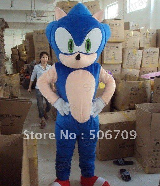 Sonic Hedgehog Halloween Costume Sonic Hedgehog Halloween