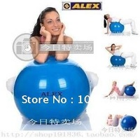 Free Shipping 65cm High Quality Yoga Ball. Multi-Color Gym Ball. Exercise Ball. Fitness Ball. Yoga Products & Air Pump