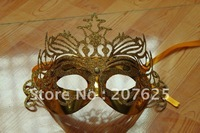 wholesale~~50pcs Mix colors Fashion style Halloween Mask Bling Bling Halloween/Party Face Mask, Masque/masquerade Party Mask