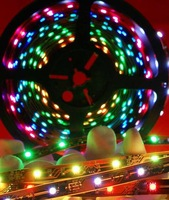 Waterproof SMD 3528 LED strip, LED strip light, flexible LED strip ,60LEDs/M,Non-waterproof