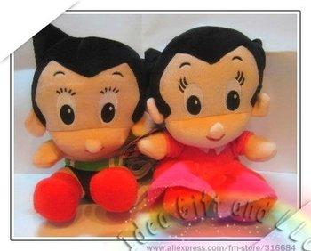 boy and girl Plush doll speaker enjoy music Speaker box, Portable Speaker, sound box