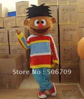 Ernie Sesame Street Elmo Friend Halloween Mascot Costume Animal mascot costume